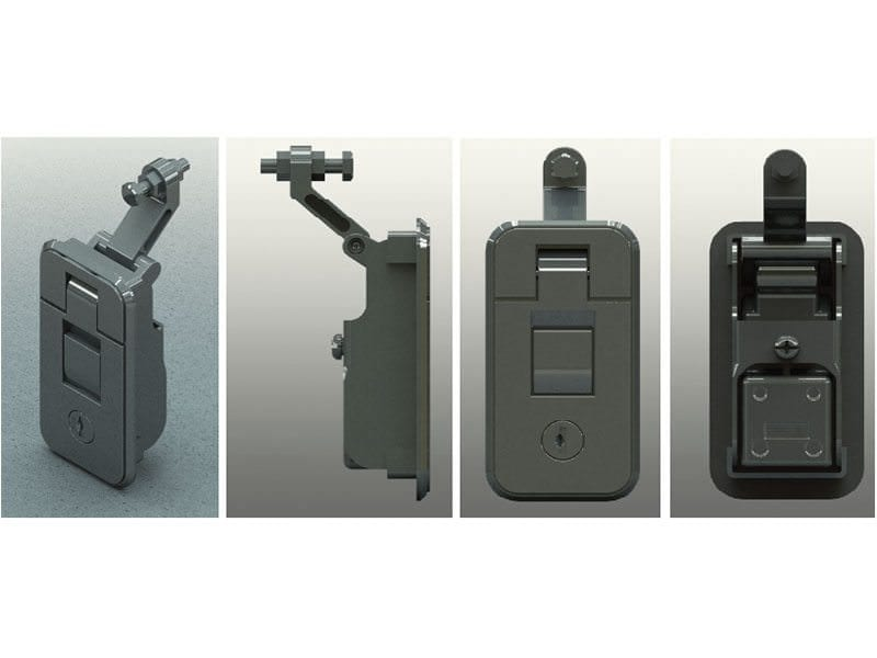 Chrome Thumb Press Compression Locks Small 6