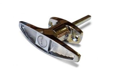 ajpm front chrome T handle