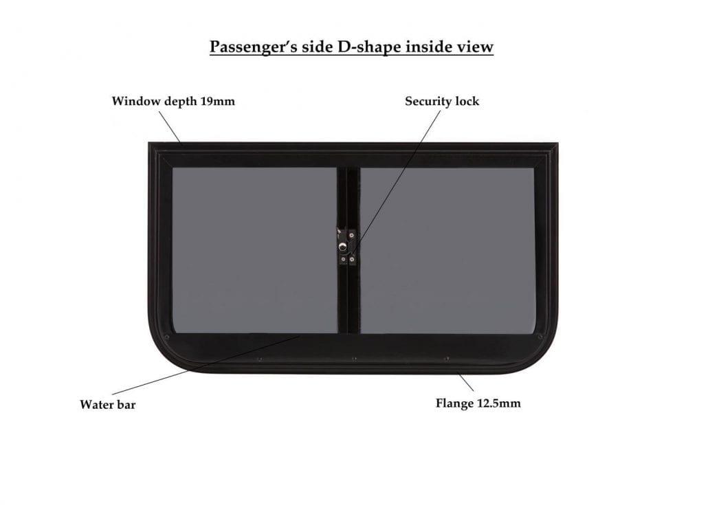 d passenger rt rear light